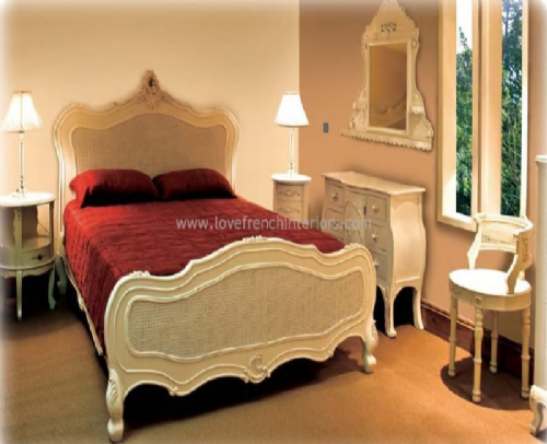 Sophie Rattan Bedroom Collection